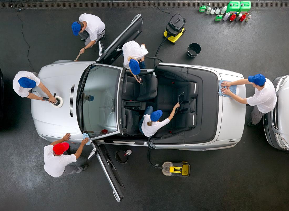 car interior detailing in Toronto